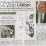 Il ritorno di Valter Giuliano